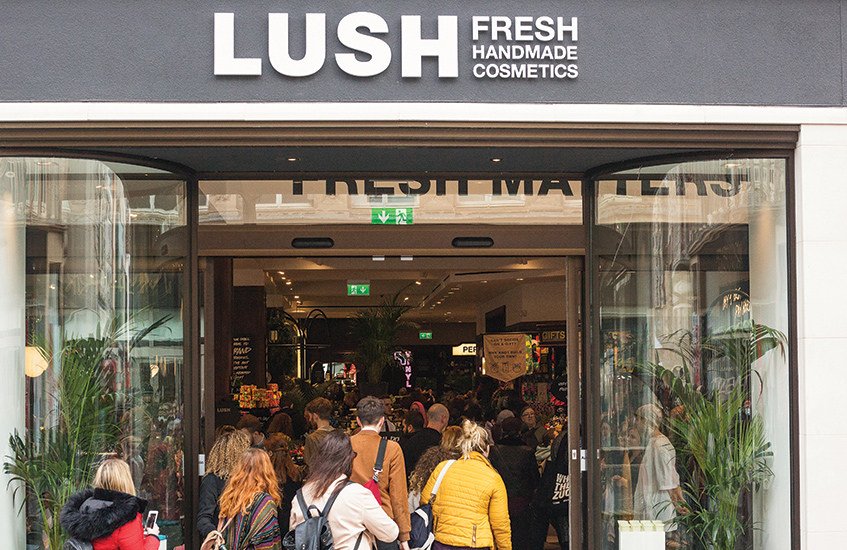 Liverpool's giant new Lush shop and spa