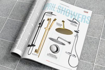 Shower sets for a stylish bathroom