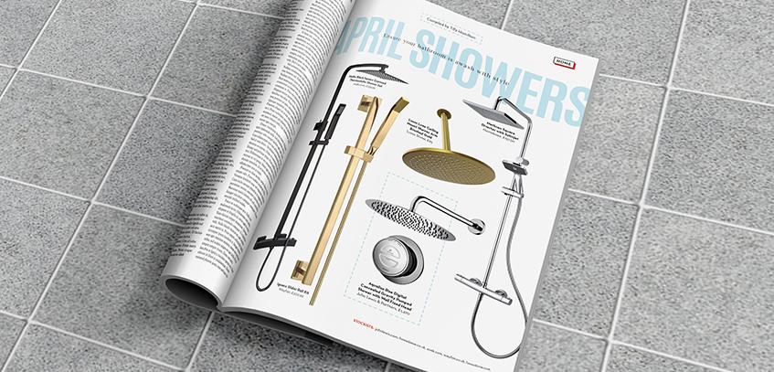 Shower sets for a stylish bathroom
