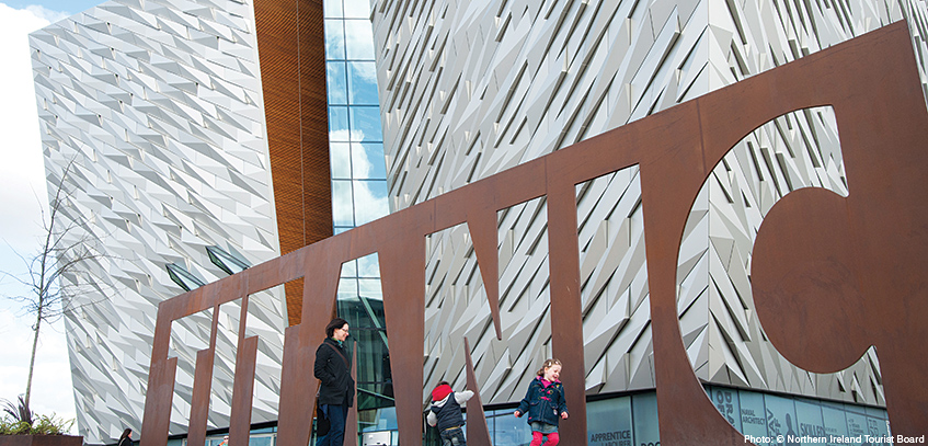 Belfast Travel Guide - two days from Liverpool