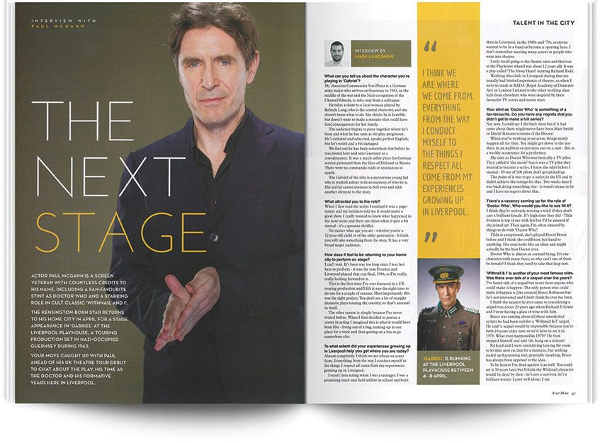 Paul McGann interview - 20 Years of YM Liverpool