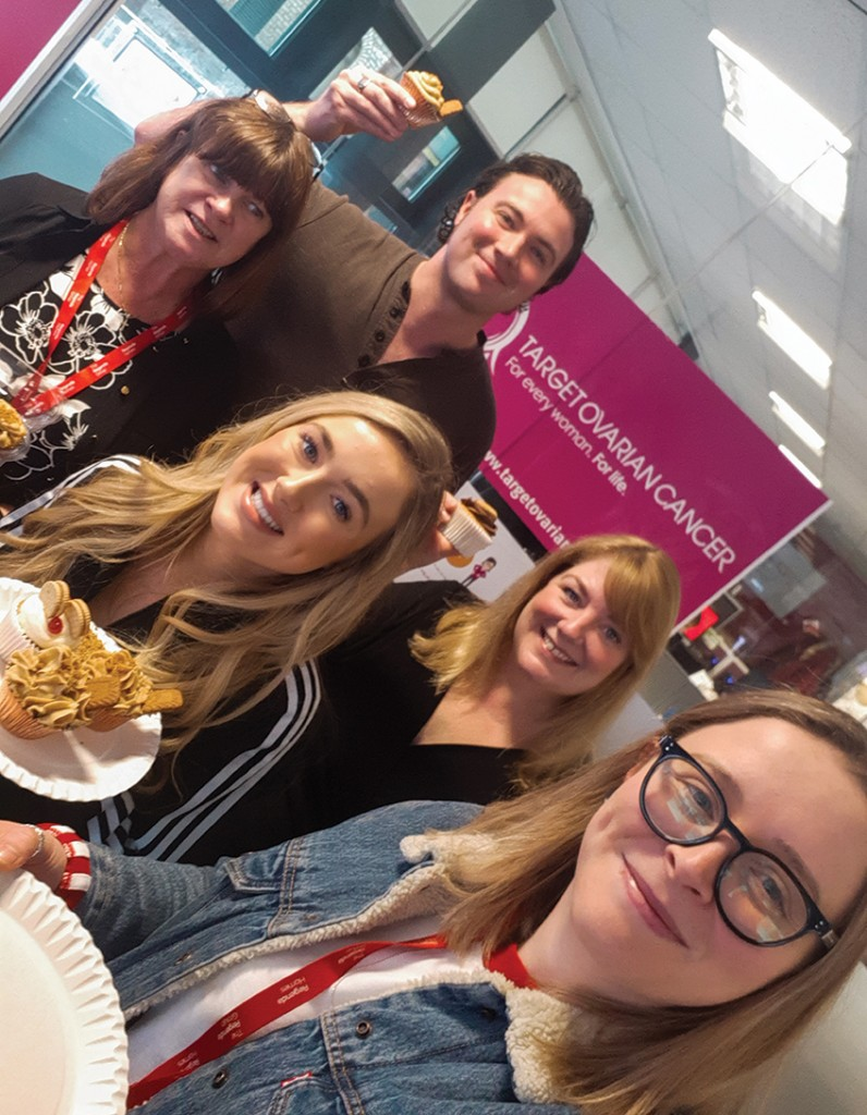 Redwing Living fundraisers with baked treats