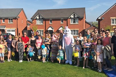 Family fun day welcomes new Upton Pines residents