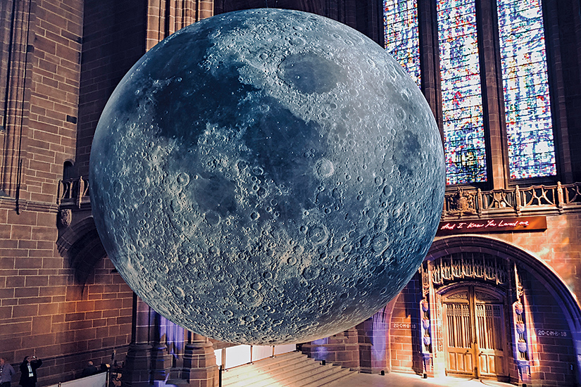Museum of the Moon at Liverpool Cathedral - Gaia interview