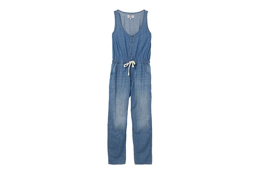 Denim soft dungaree jumpsuit | £49.50, FatFace