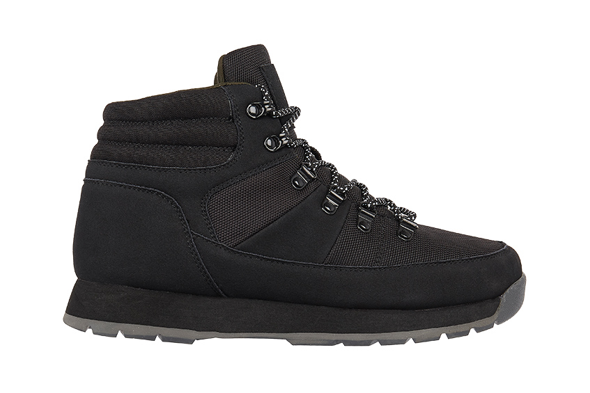 Black lace-up boots | £50, River Island