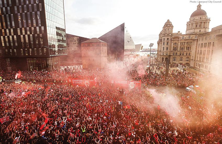 LFC victory parade