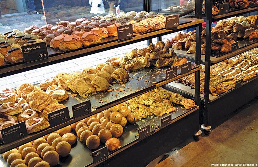 Copenhagen travel guide - city break from Liverpool - Danish pastries
