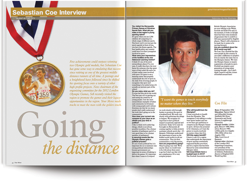 20 Years of YM Liverpool: Top interviews with sports stars from the city