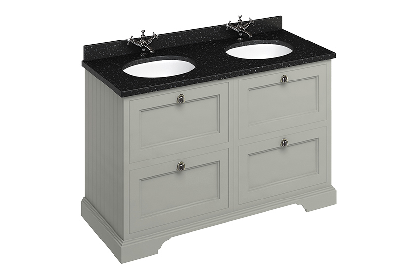 Bathroom inspiration: double basin vanity units