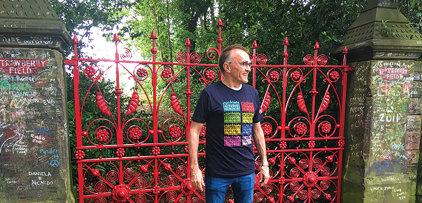 Yesterday movie - Danny Boyle at Strawberry Field