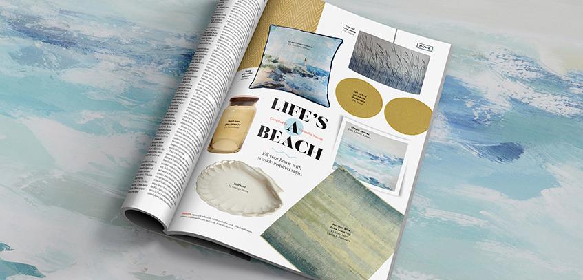Seaside, home, style, Interiors