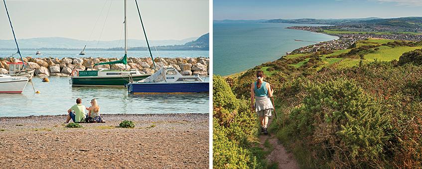 Seaside resorts near Liverpool - Rhos-on-Sea
